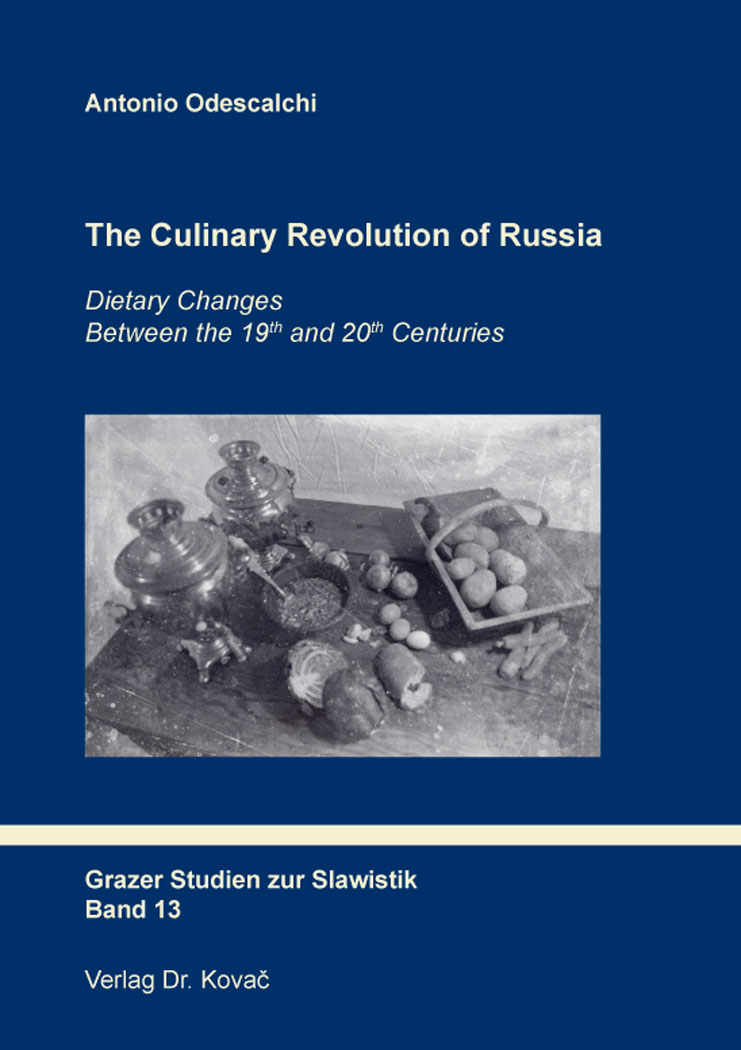 Cover: The Culinary Revolution of Russia
