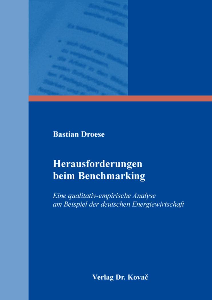 Cover: Herausforderungen beim Benchmarking