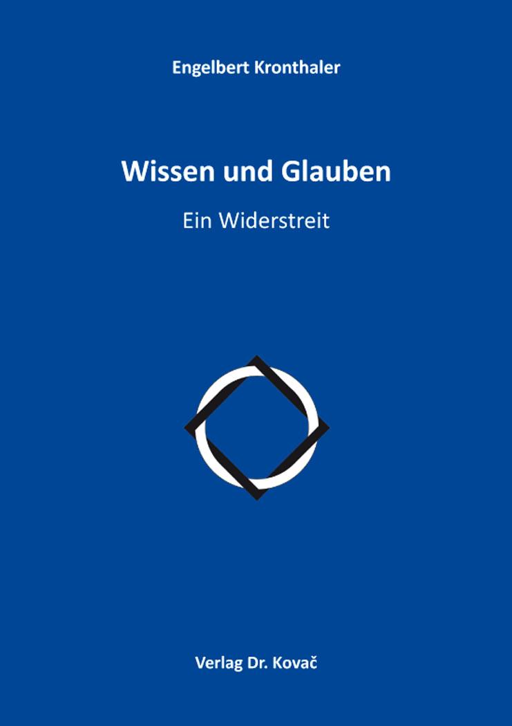 Cover: Wissen und Glauben
