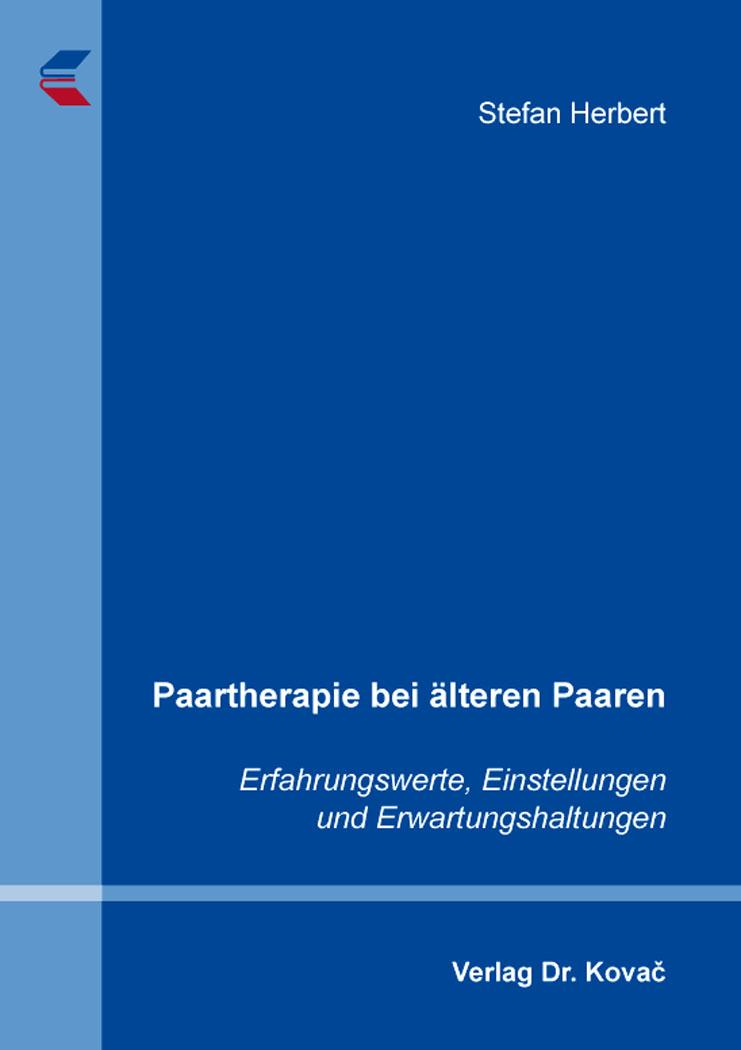 Cover: Paartherapie bei älteren Paaren
