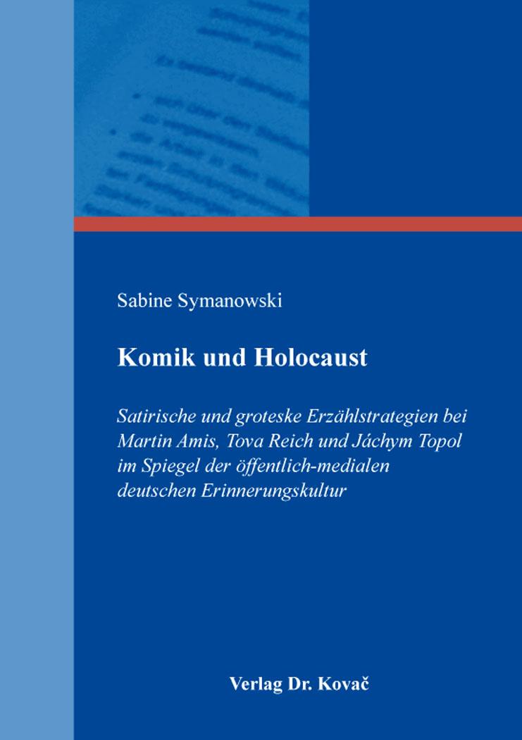 Cover: Komik und Holocaust