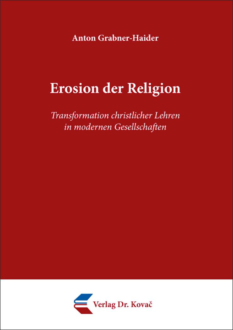 Cover: Erosion der Religion