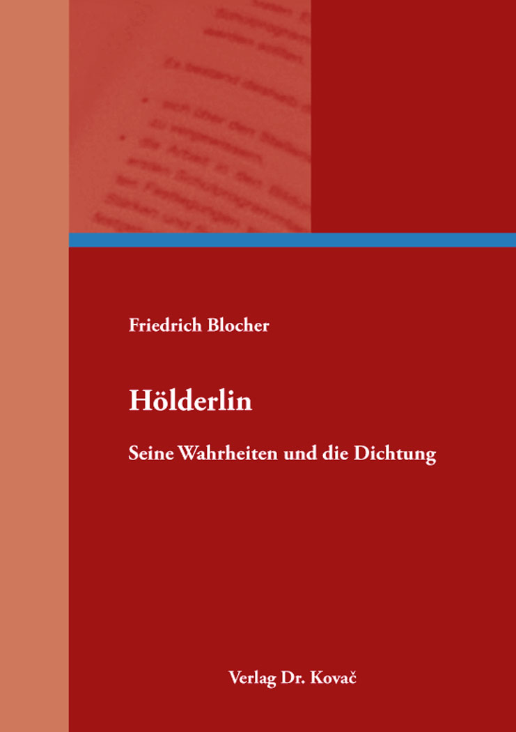 Cover: Hölderlin