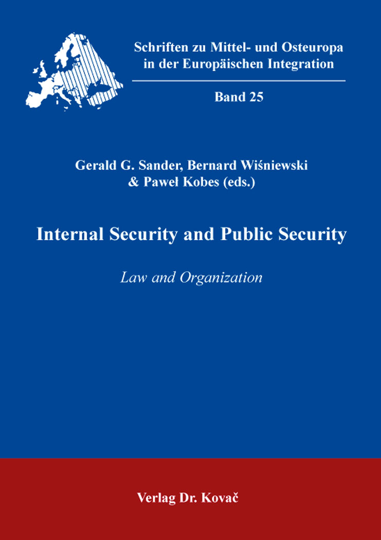 Cover: Internal Security and Public Security