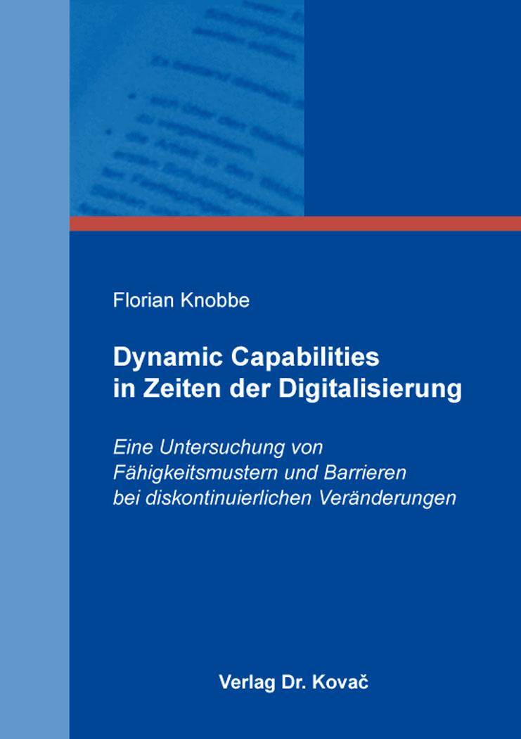 Cover: Dynamic Capabilities in Zeiten der Digitalisierung