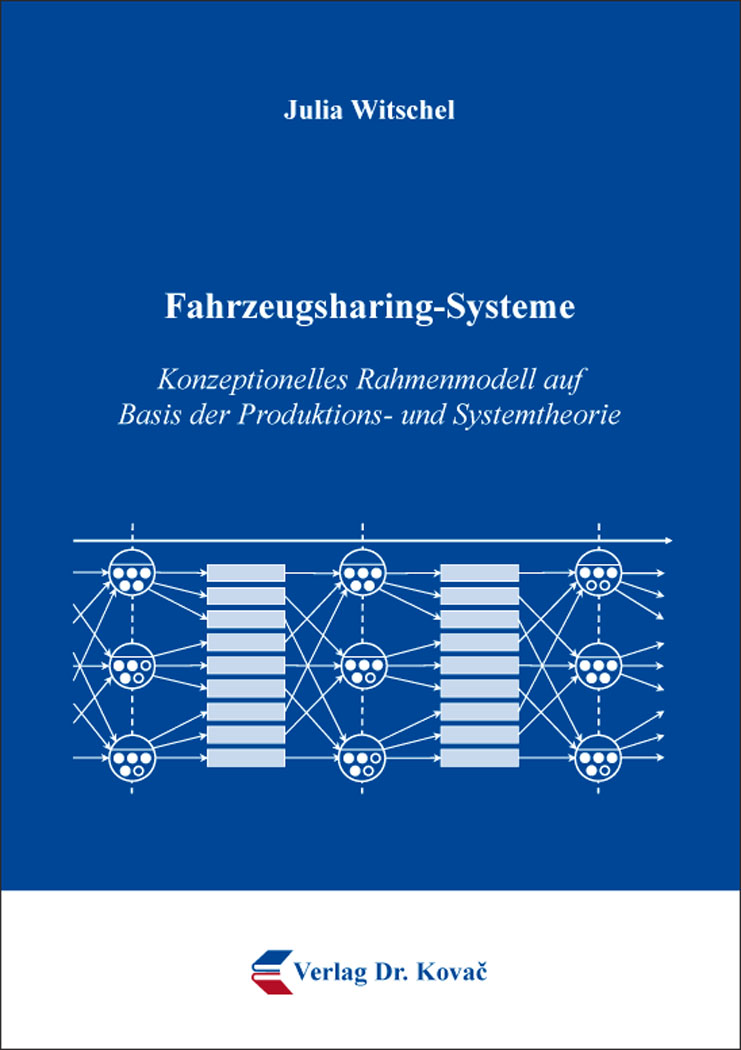Cover: Fahrzeugsharing-Systeme