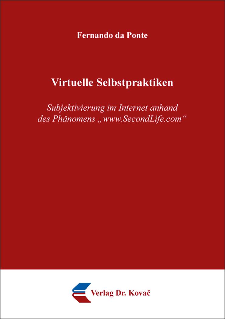 Cover: Virtuelle Selbstpraktiken
