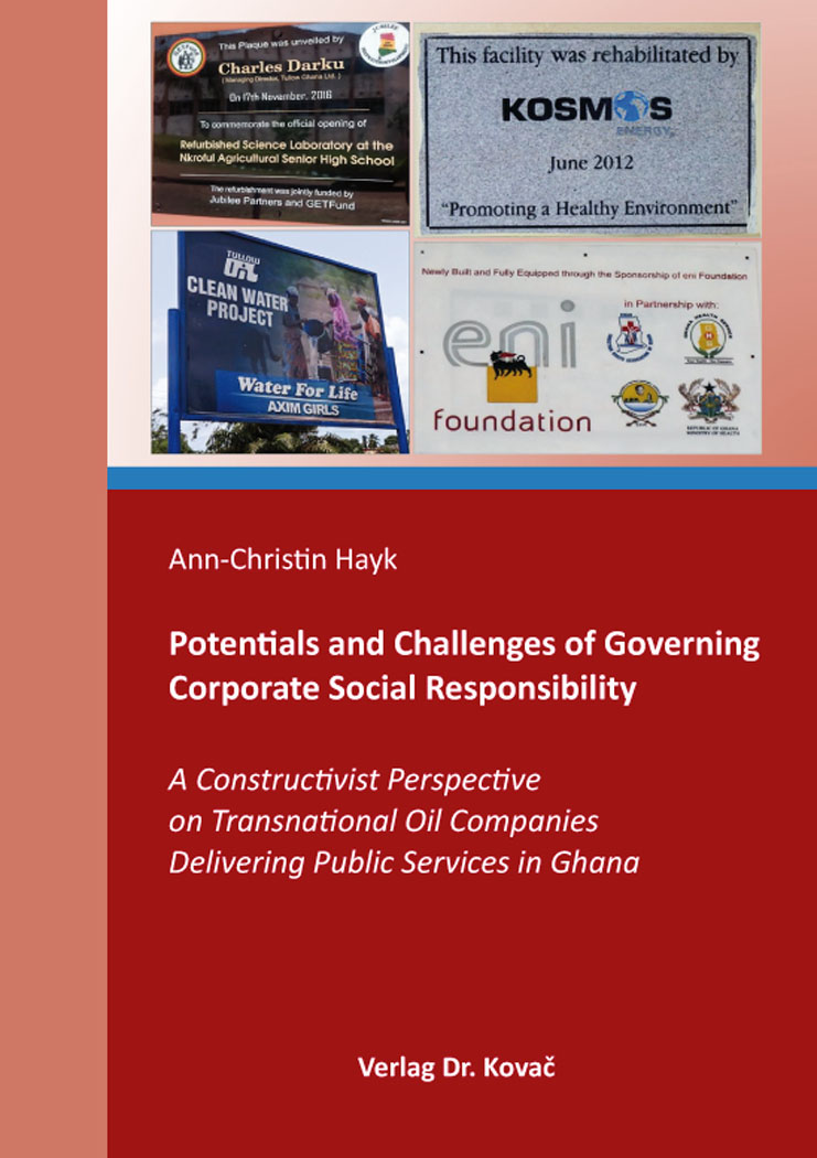 Cover: Potentials and Challenges of Governing Corporate Social Responsibility