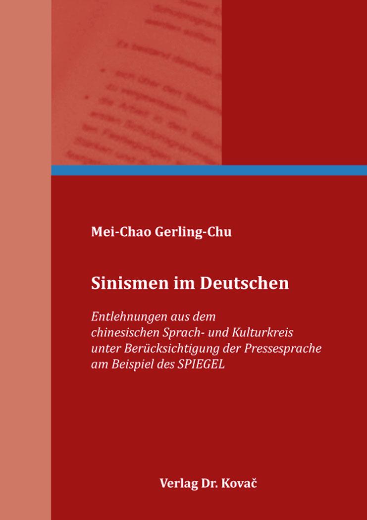 Cover: Sinismen im Deutschen
