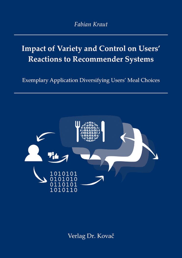 Cover: Impact of Variety and Control on Users' Reactions to Recommender Systems