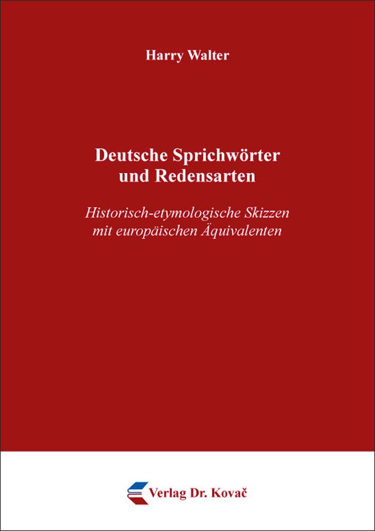 Cover: Deutsche Sprichwörter und Redensarten