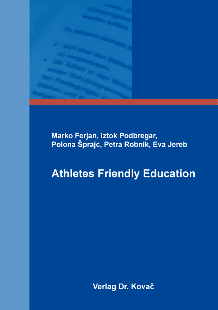 Cover: Athletes Friendly Education