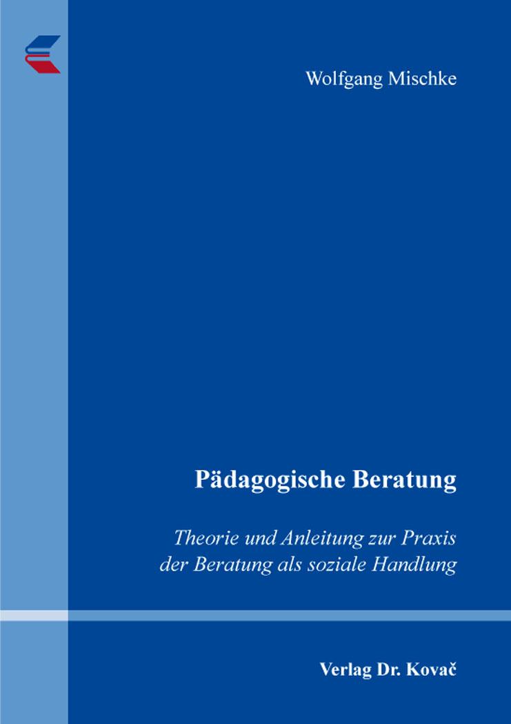 Cover: Pädagogische Beratung