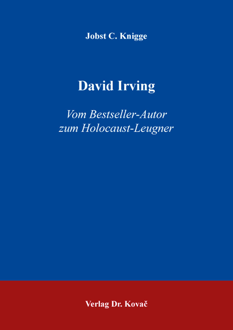 Cover: David Irving