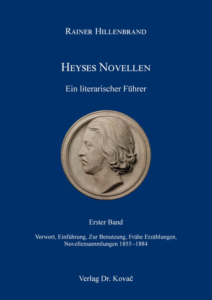 Cover: Heyses Novellen – Ein literarischer Führer