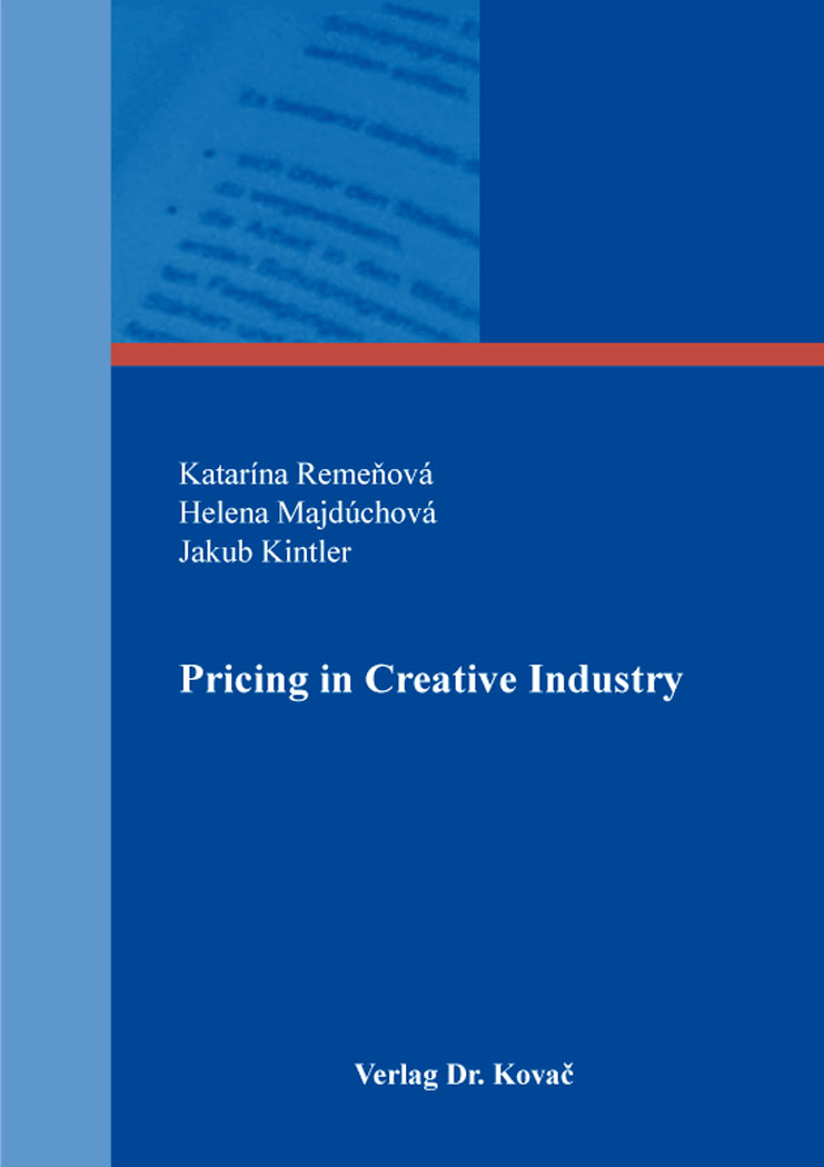 Cover: Pricing in Creative Industry
