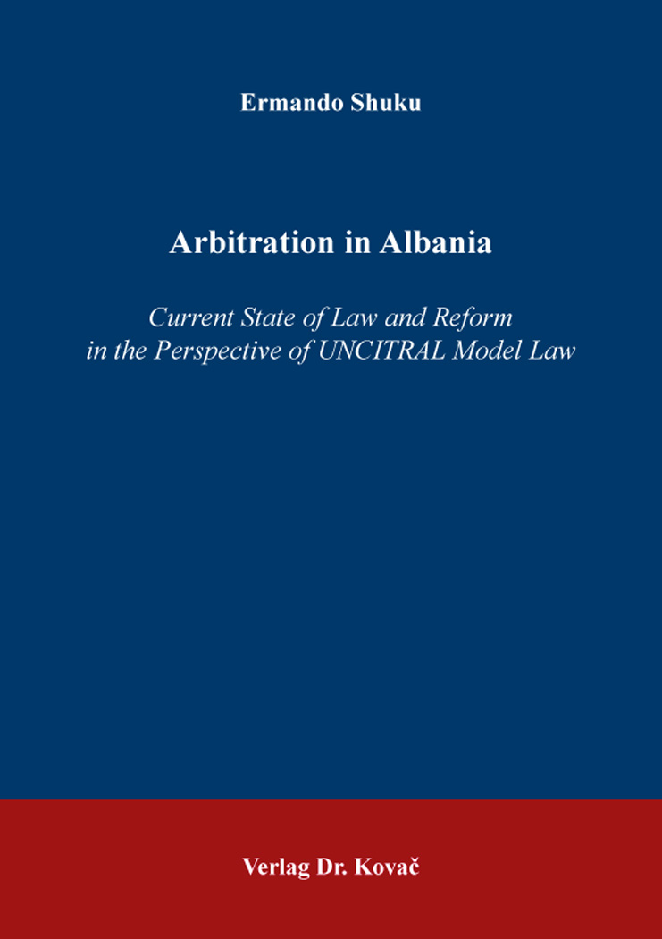 Cover: Arbitration in Albania