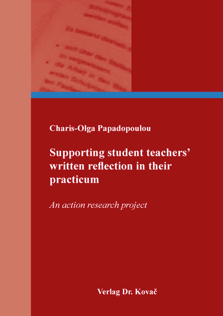 Cover: Supporting student teachers' written reflection in their practicum