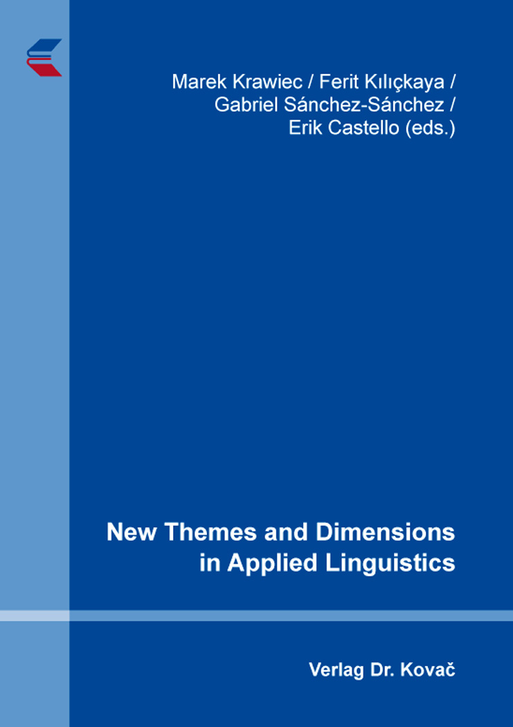 Cover: New Themes and Dimensions in Applied Linguistics