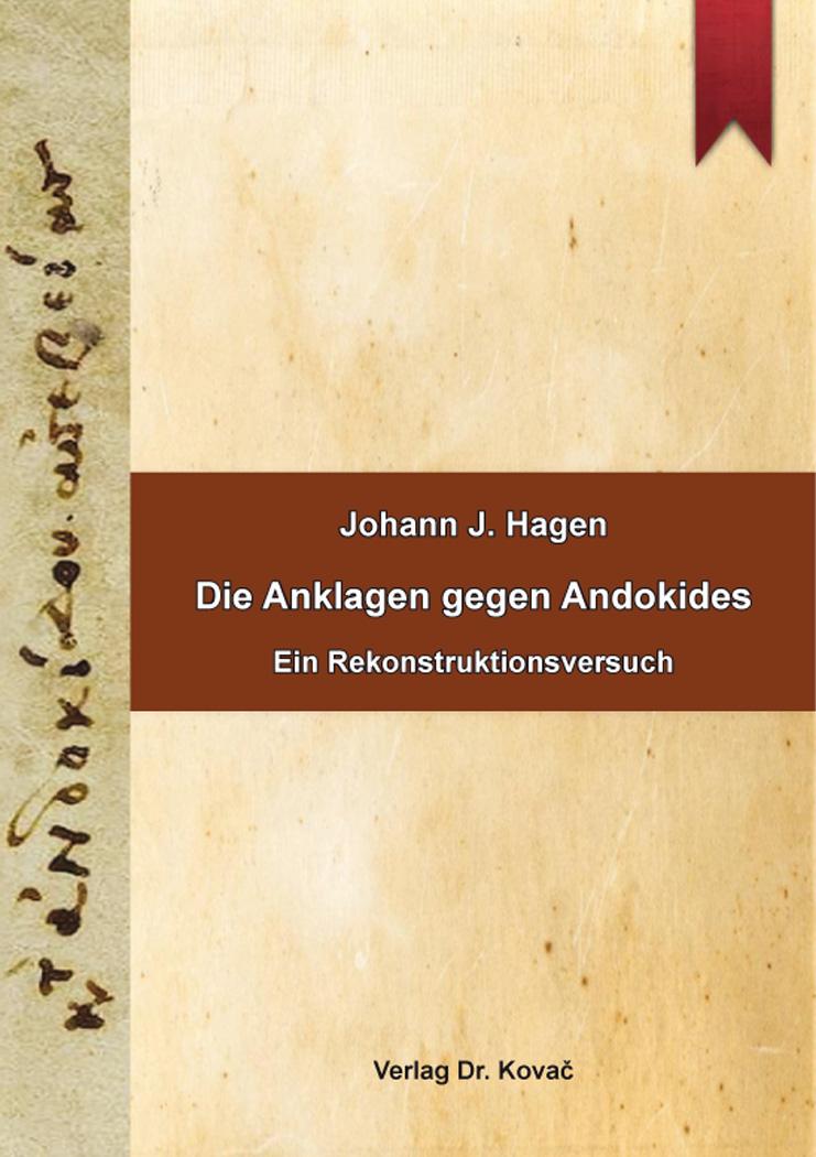 Cover: Die Anklagen gegen Andokides