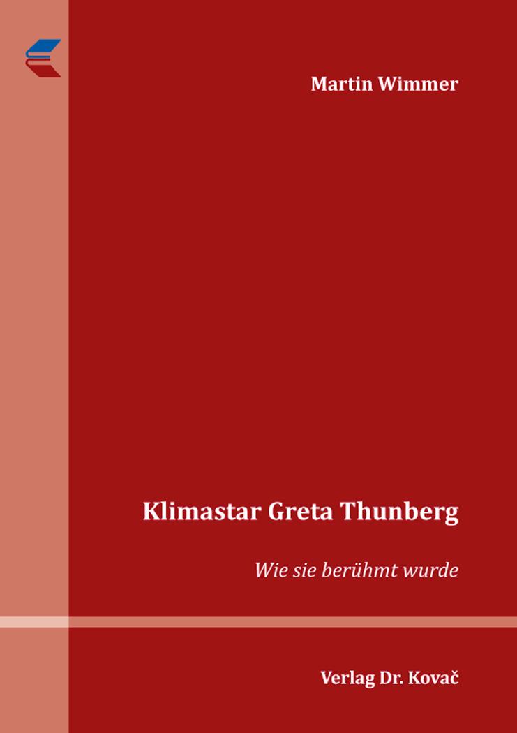 Cover: Klimastar Greta Thunberg