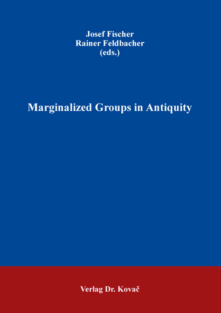 Cover: Marginalized Groups in Antiquity