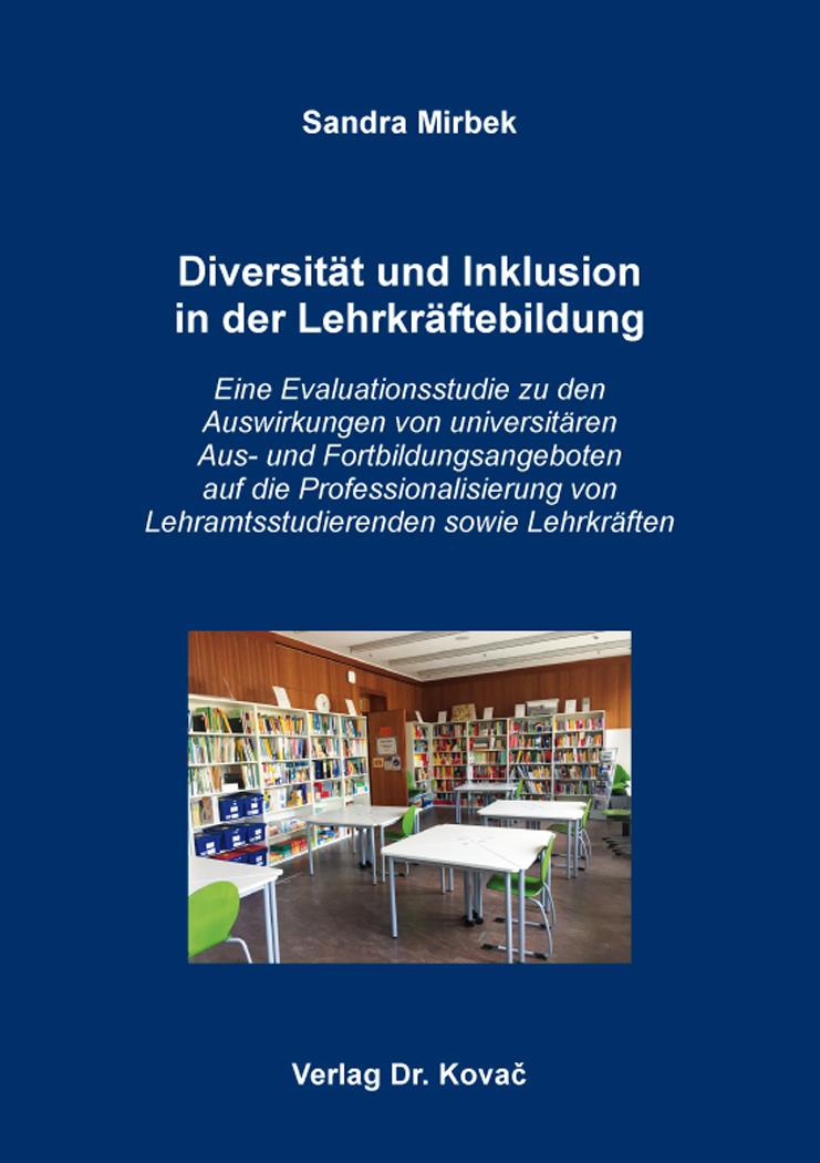 Cover: Diversität und Inklusion in der Lehrkräftebildung