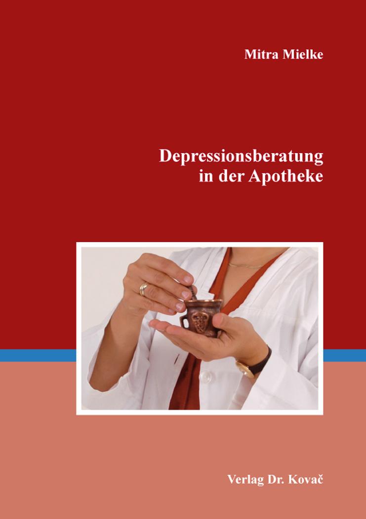Cover: Depressionsberatung in der Apotheke