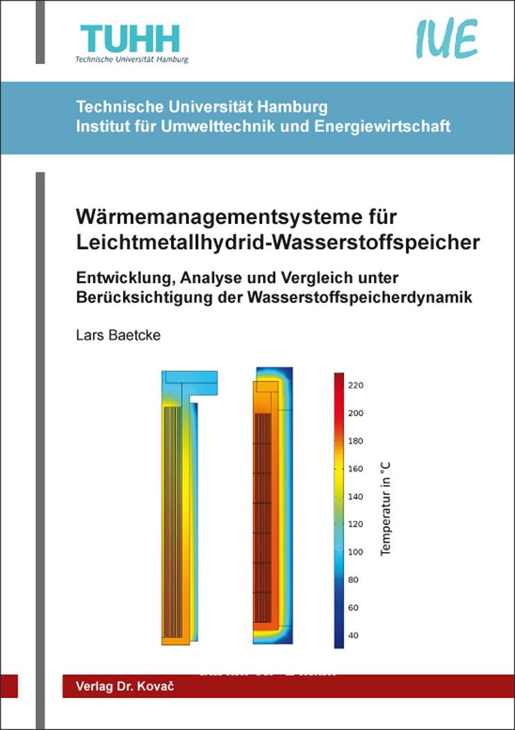 Cover: Wärmemanagementsysteme für Leichtmetallhydrid-Wasserstoffspeicher