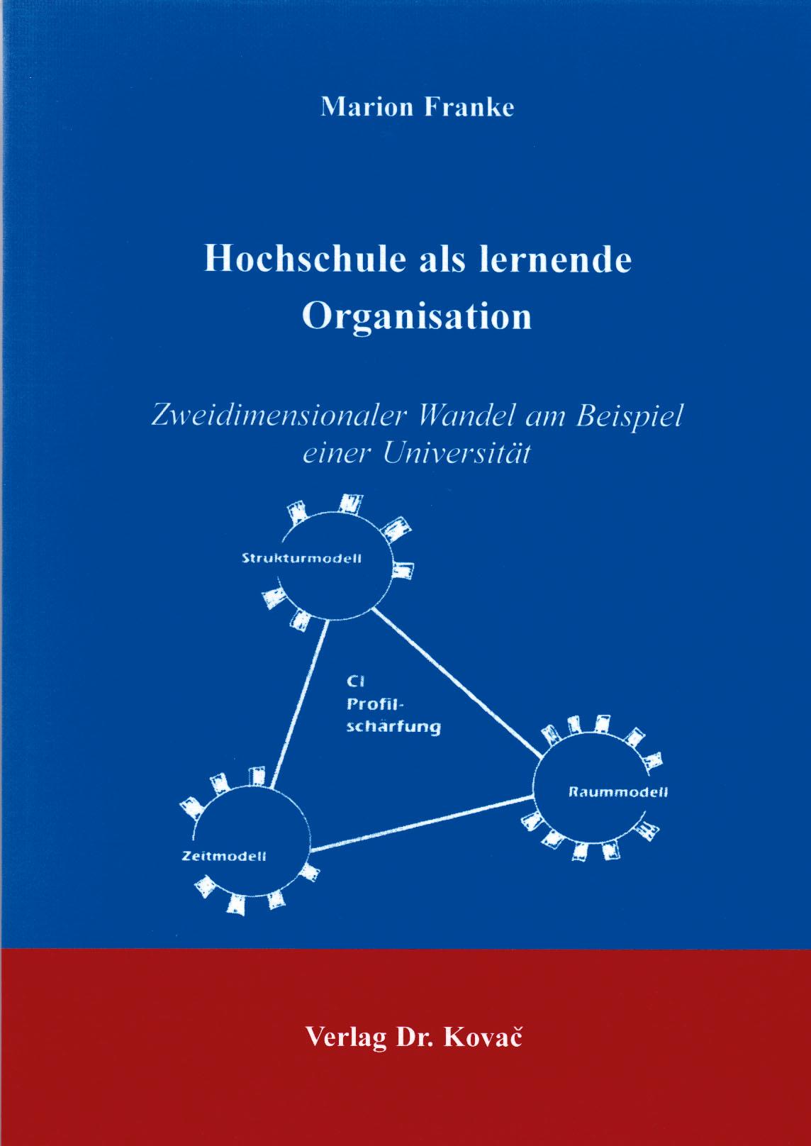 Cover: Hochschule als lernende Organisation