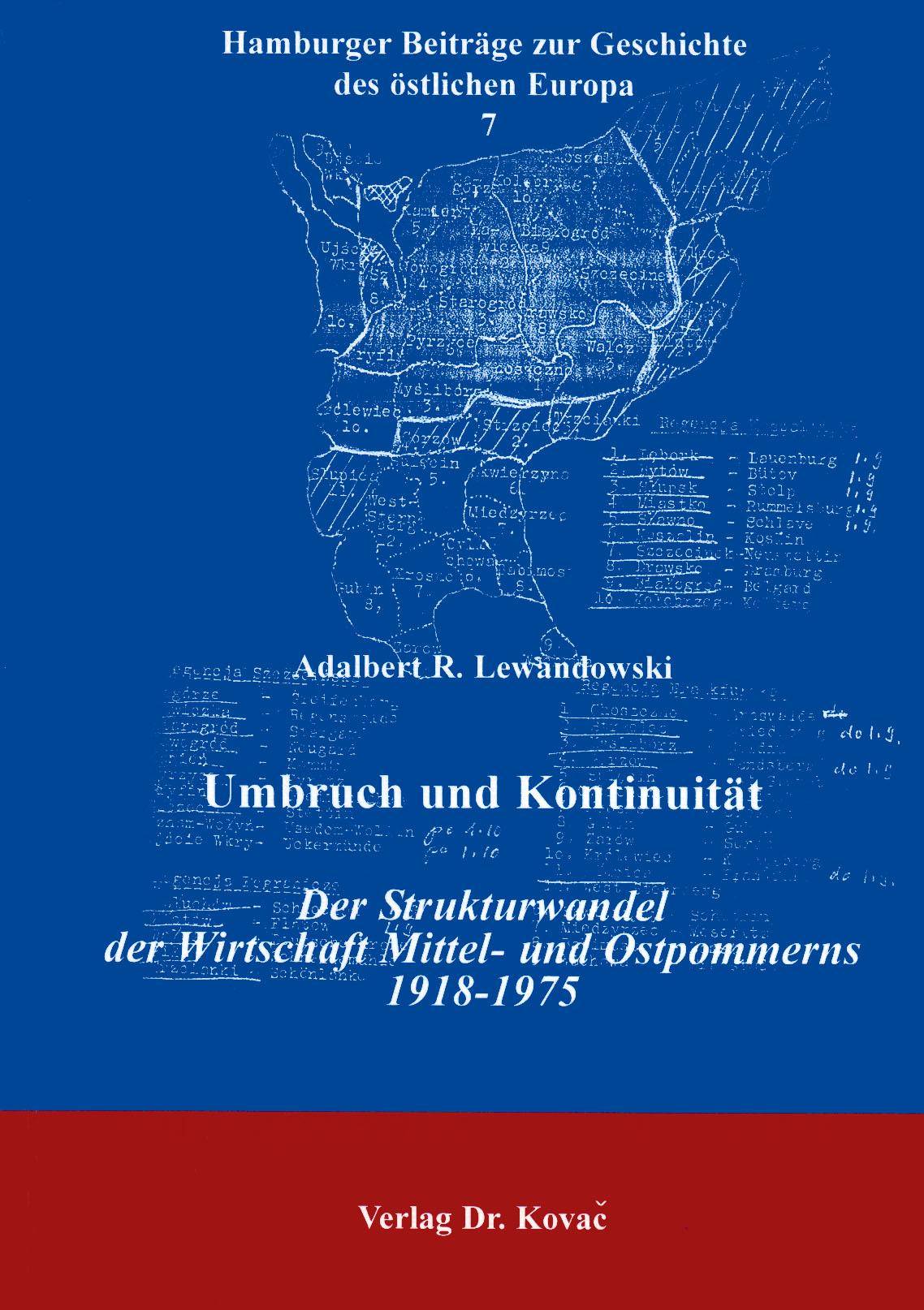 Cover: Umbruch und Kontinuität