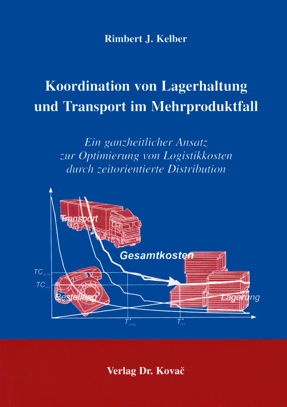 Cover: Koordination von Lagerhaltung und Transport im Mehrproduktfall