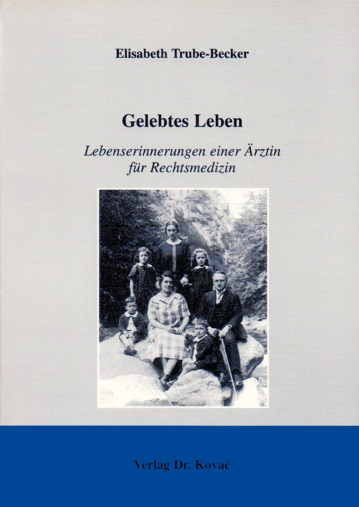 Cover: Gelebtes Leben