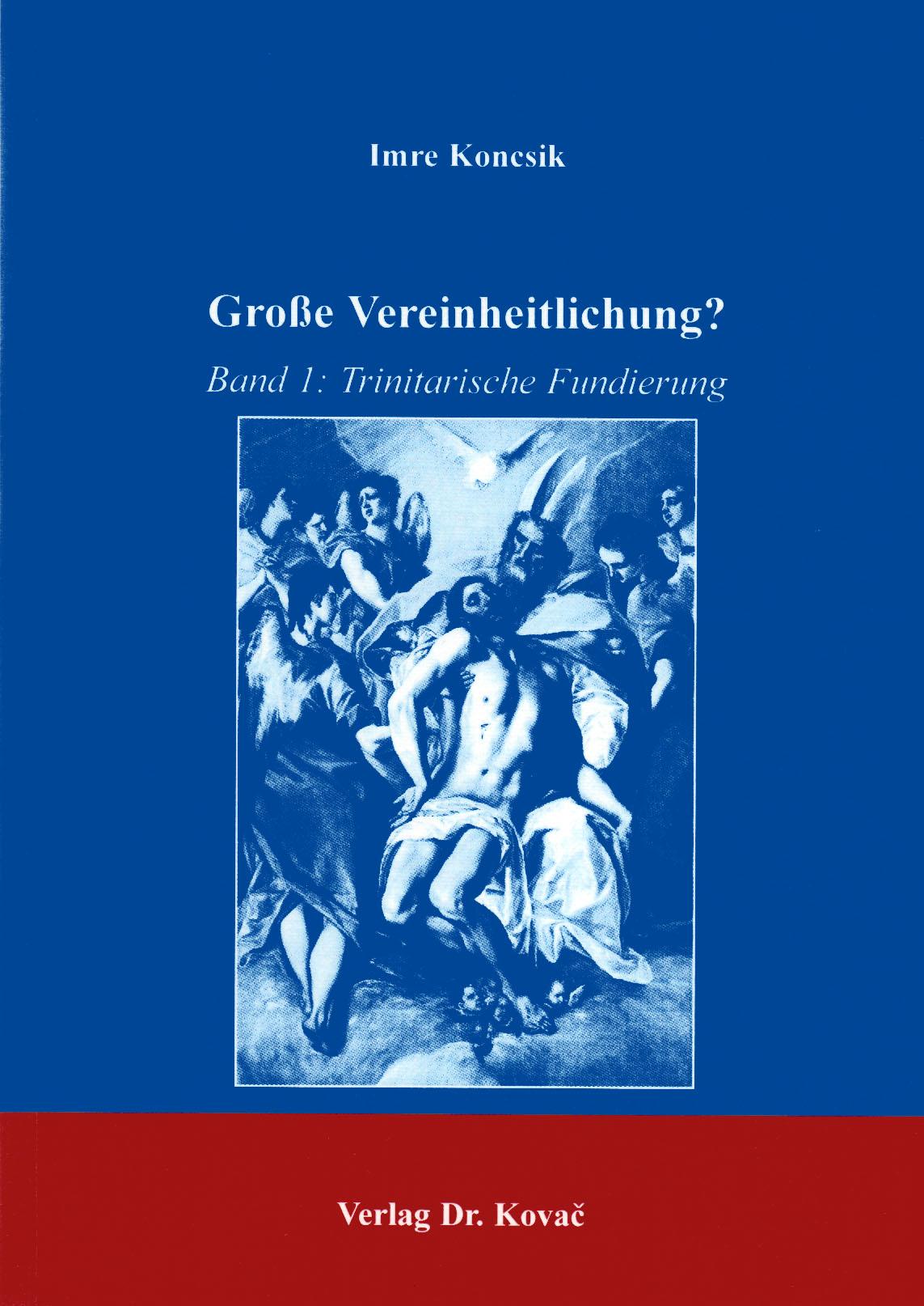 Cover: Große Vereinheitlichung