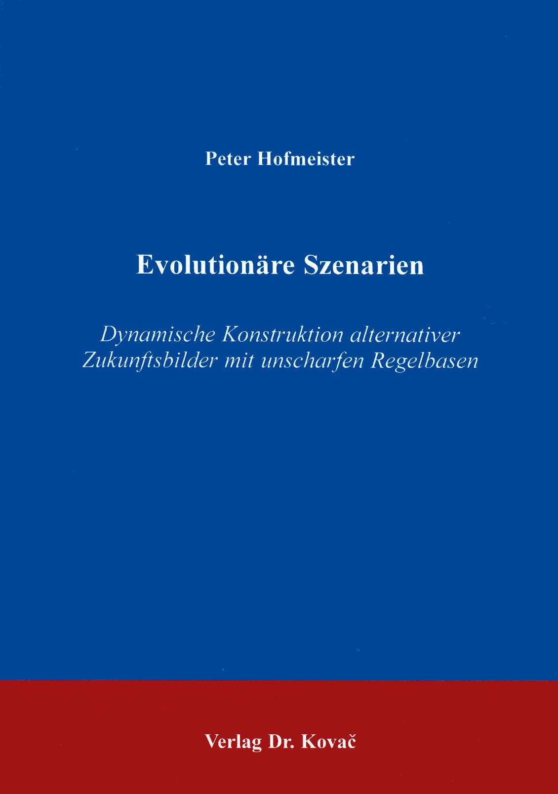 Cover: Evolutionäre Szenarien