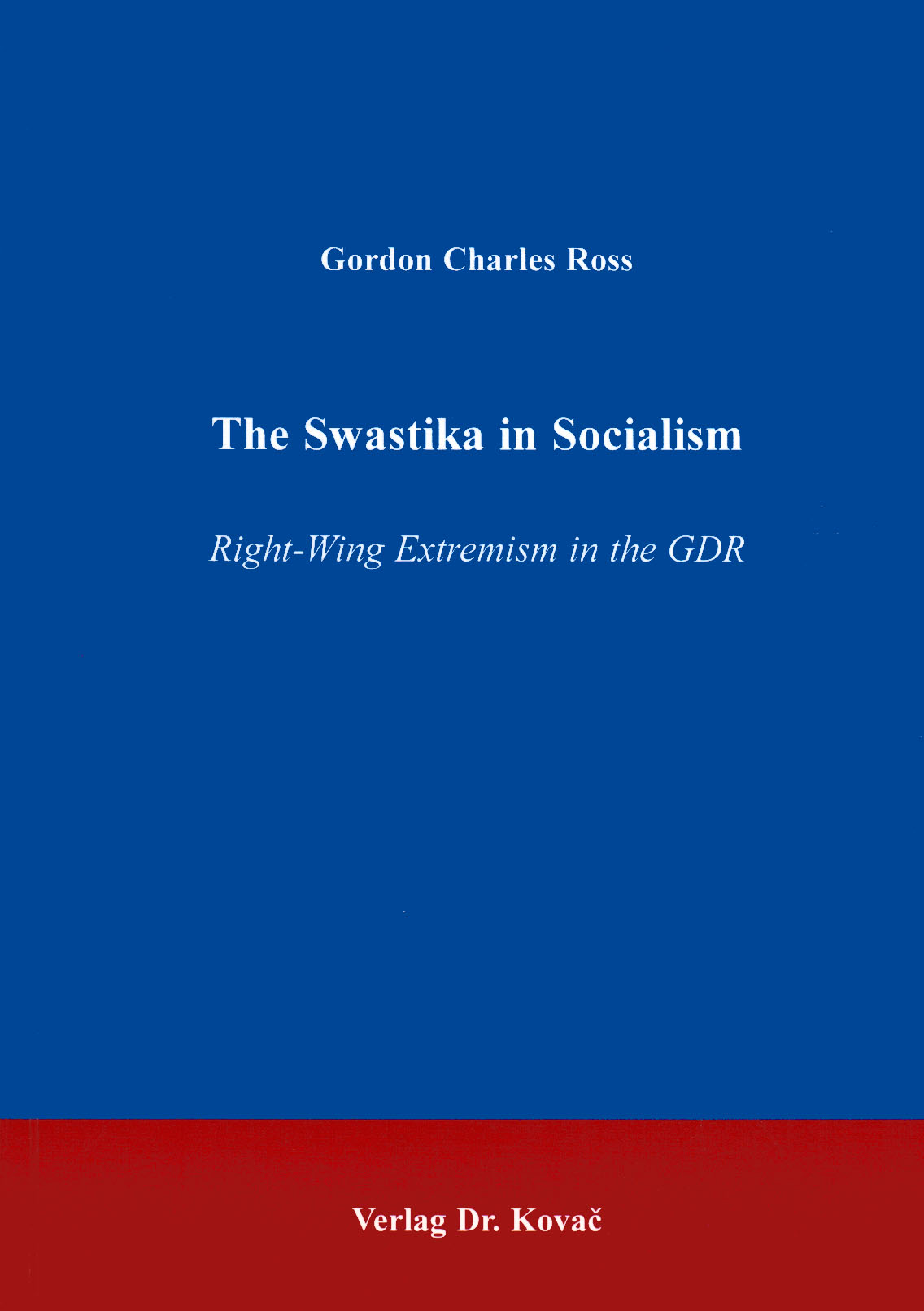 Cover: The Swastika in Socialism