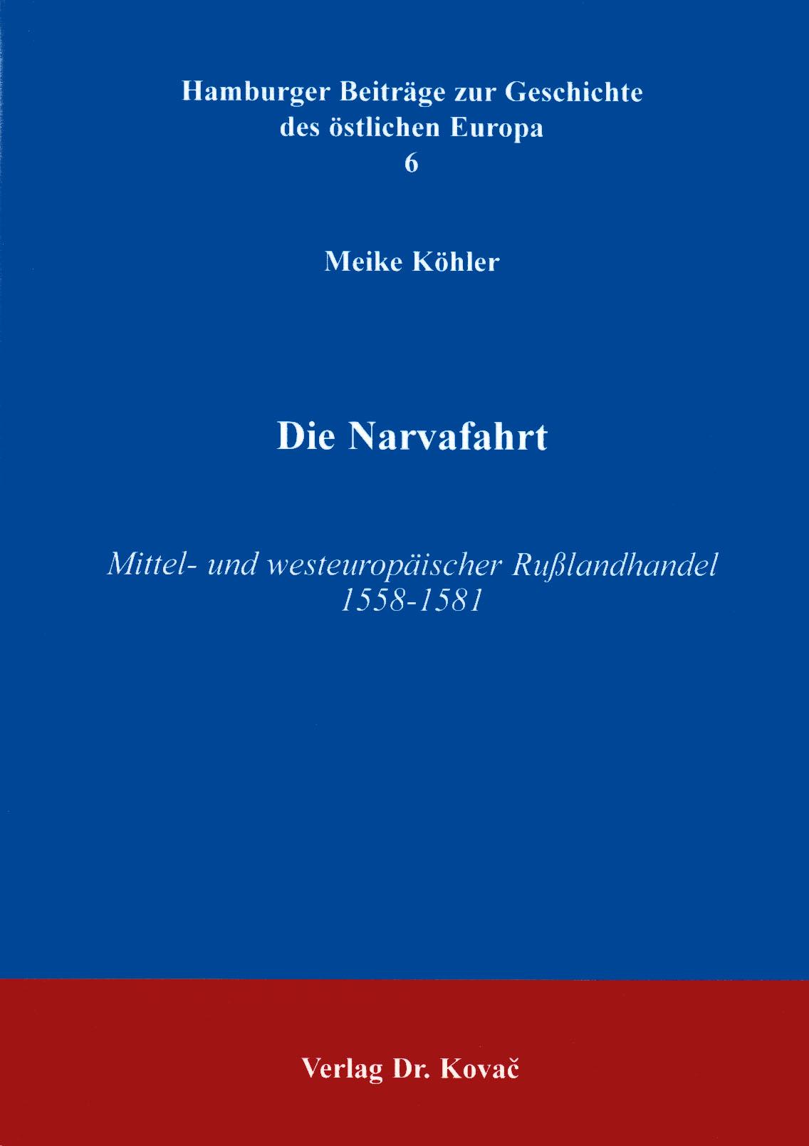 Cover: Die Narvafahrt