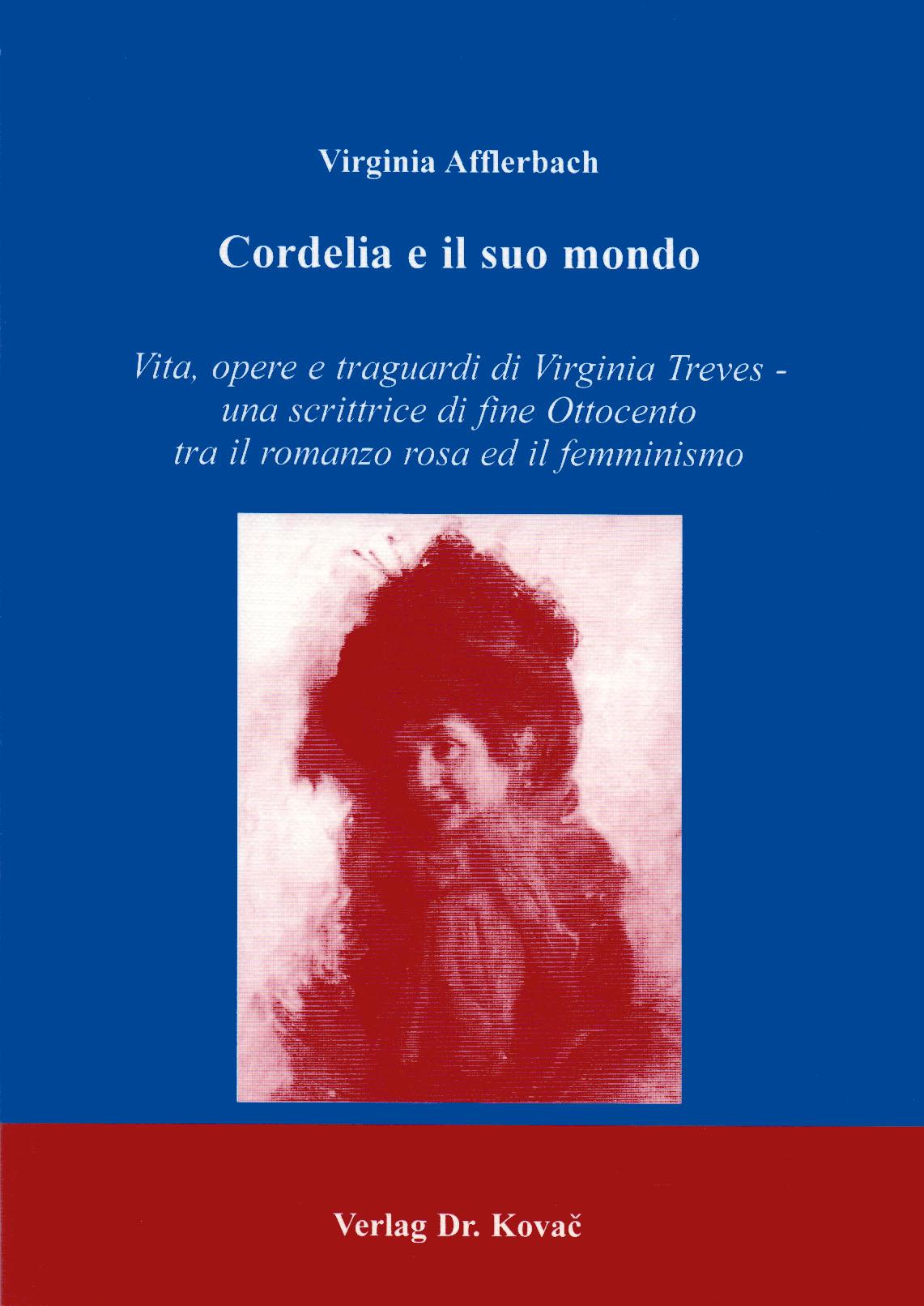 Cover: Cordelia e il suo mondo