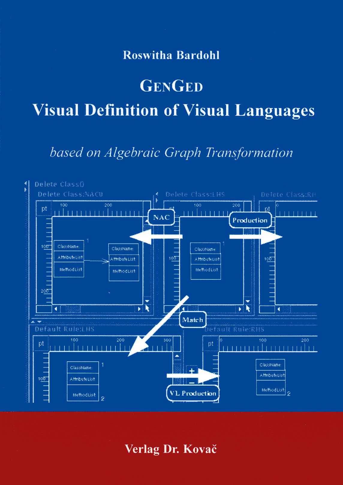 Cover: GENGED: Visual Definition of Visual Languages