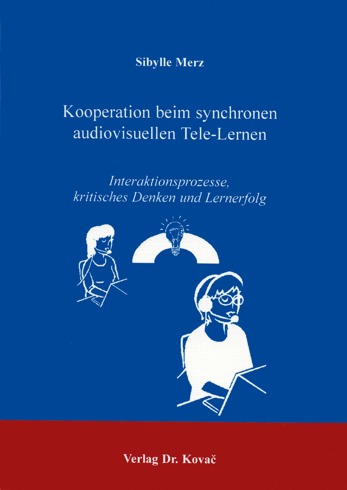 Cover: Kooperation beim synchronen audiovisuellen Tele-Lernen