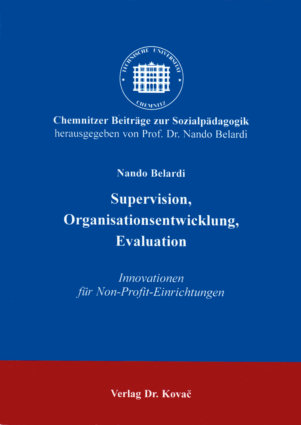Cover: Supervision, Organisationsentwicklung, Evaluation
