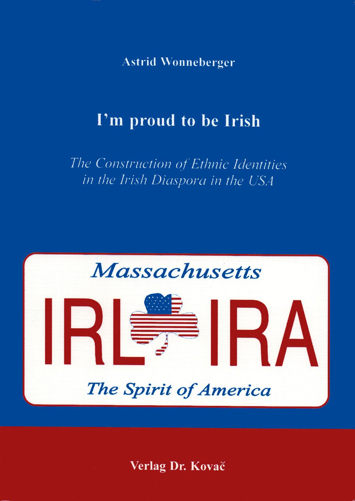 Cover: I´m proud to be Irish