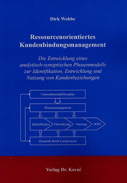 Cover: Ressourcenorientiertes Kundenbindungsmanagement