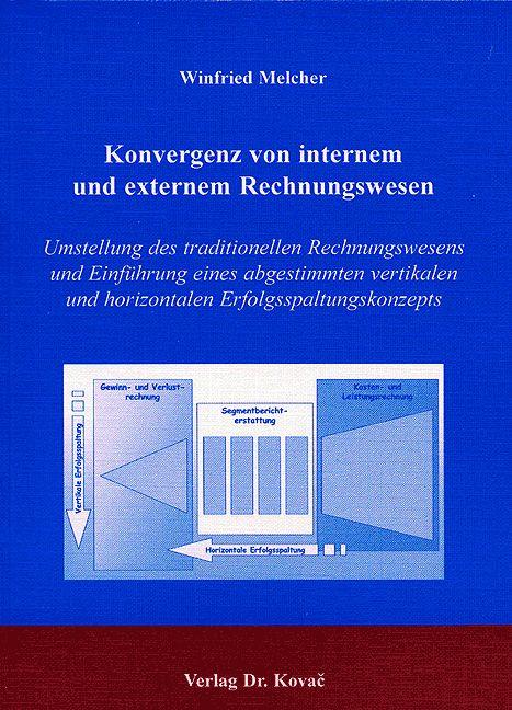 Cover: Konvergenz von internem und externem Rechnungswesen
