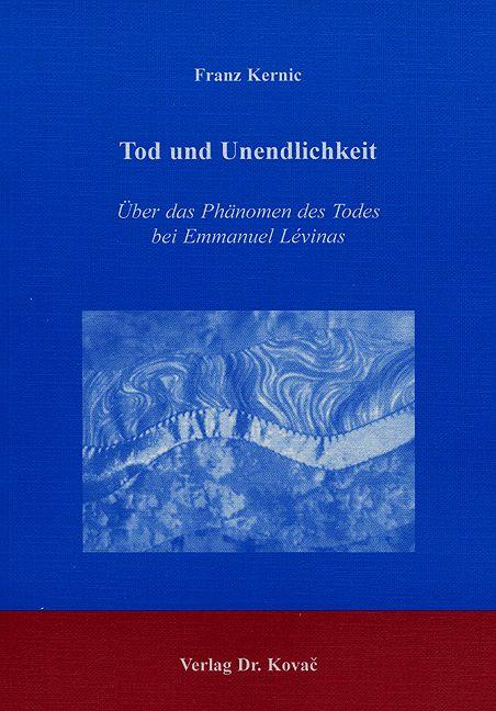 Cover: Tod und Unendlichkeit