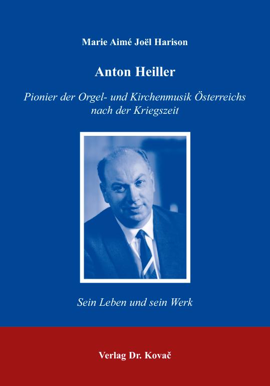 Cover: Anton Heiller