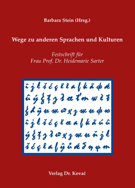 Cover: Wege zu anderen Sprachen und Kulturen