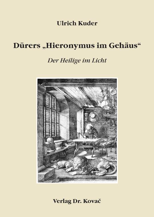 """Cover: Dürers """"Hieronymus im Gehäus"""""""