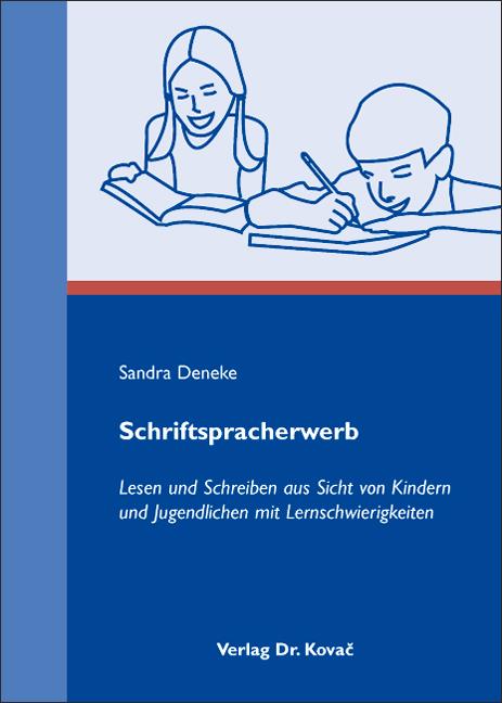 Cover: Schriftspracherwerb