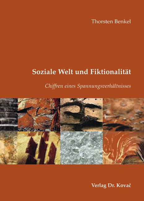 Cover: Soziale Welt und Fiktionalität